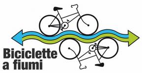 """Logo """"Biciclette a Fiumi"""""""
