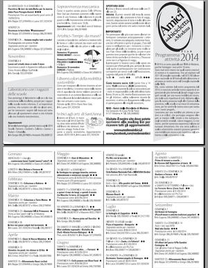 Programma 2014