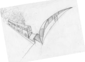 treno vecchio e treno nuovo