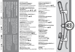 Depliant Attività 2015 FIAB Modena