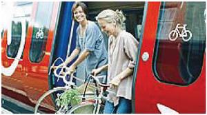 treno più bici, accoppiata felice