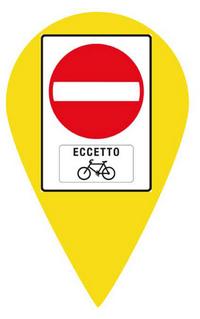 eccetto bici. in tutta europa funziona così