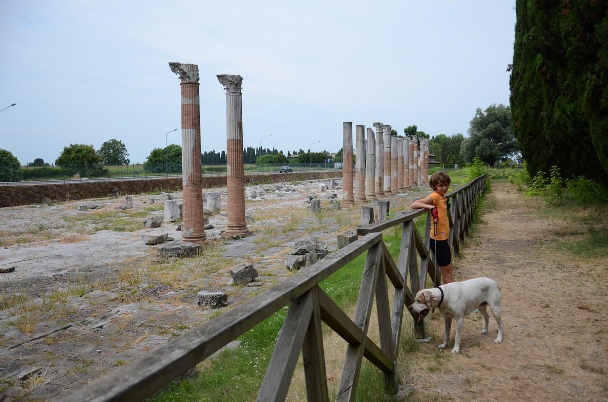 il vecchio foro romano di acquileia