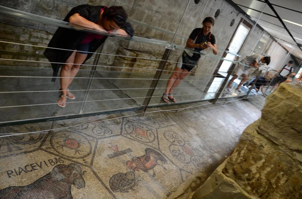 i famosi mosaici di acquileia