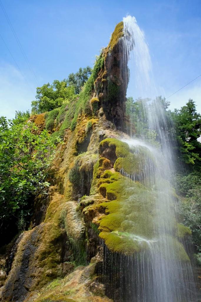 Cascata dell'Abante, Castel D'Aiano
