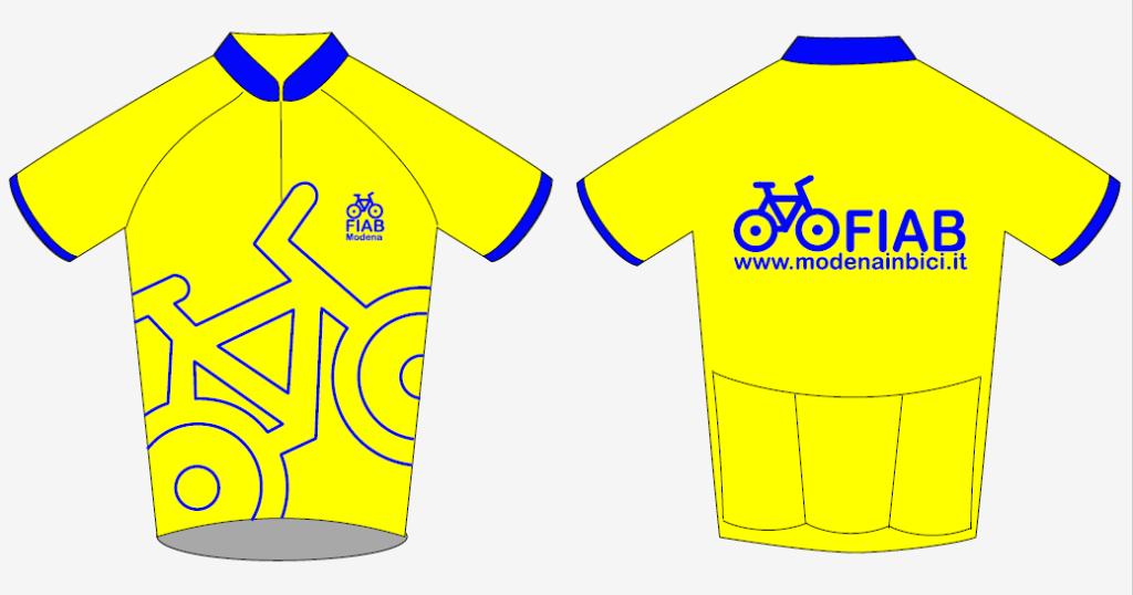 modello maglietta FIAB Modena