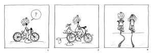 """""""Donne in Bici"""" Pedalando con le allieve del corso @ Modena"""