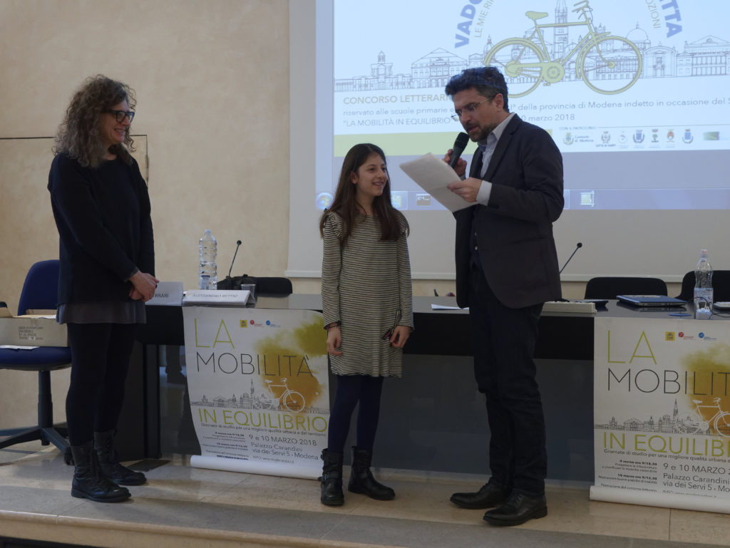 Andiamo a Scuola in Bicicletta: premiazione
